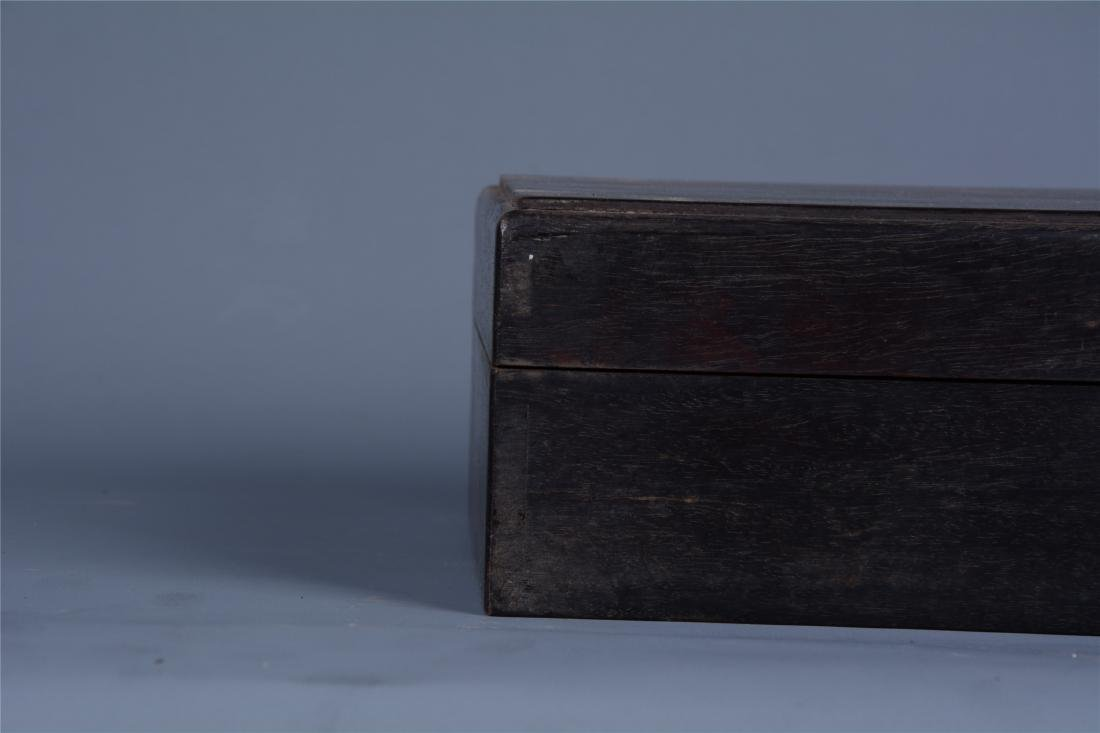CHINESE ROSEWOOD BOOK CASE - 3