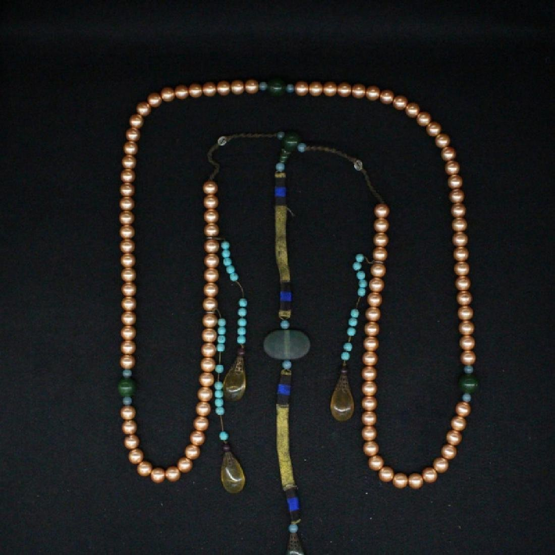 CHINESE PEARL BEADS CHAOZHU COURT NECKLACE
