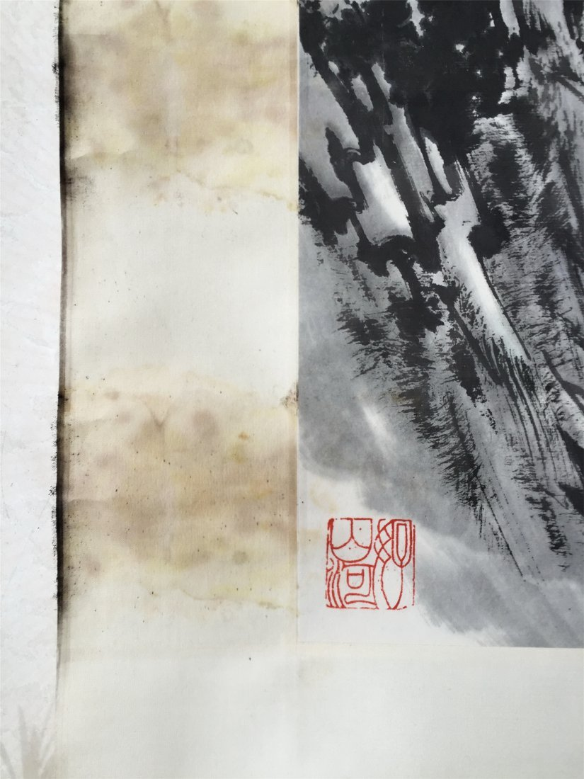 CHINESE SCROLL PAINTING OF LAKEVIEWS - 4