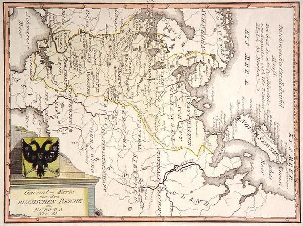 3: General-Karte von dem Russischen Reiche in Europa