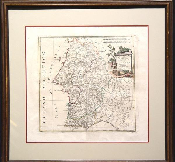 7: L'Estremadura di Portogallo Alentejo, ed Algarue
