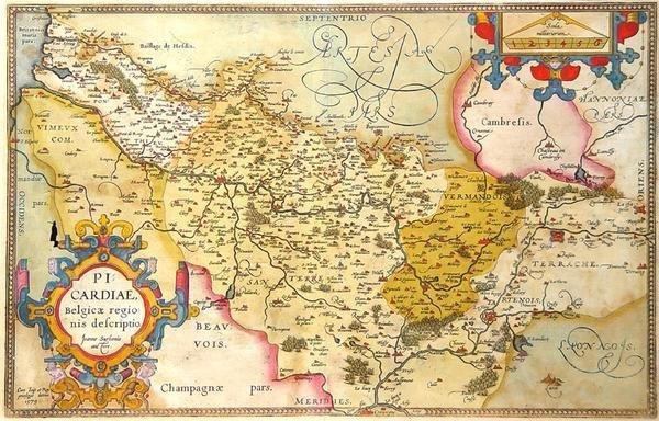 16: Picardiae, Belgicae regionis descriptio