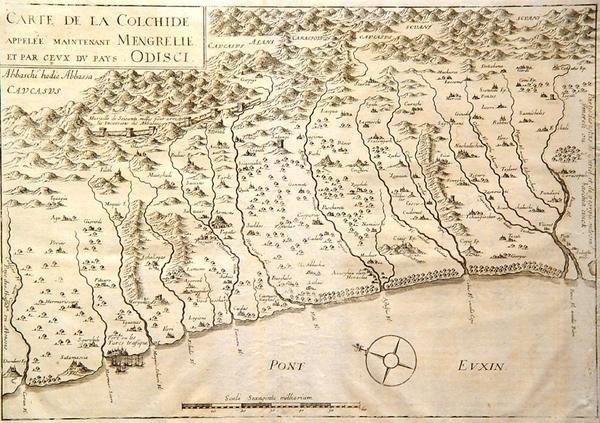 19: Carte de la Colchide... [Ottoman Empire eastern for