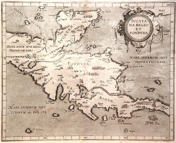 245: Iucatana Regio et Fondura [Yucatan and Honduras],