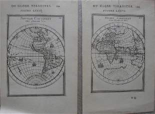 Hemispheres Du Globe Terrestre