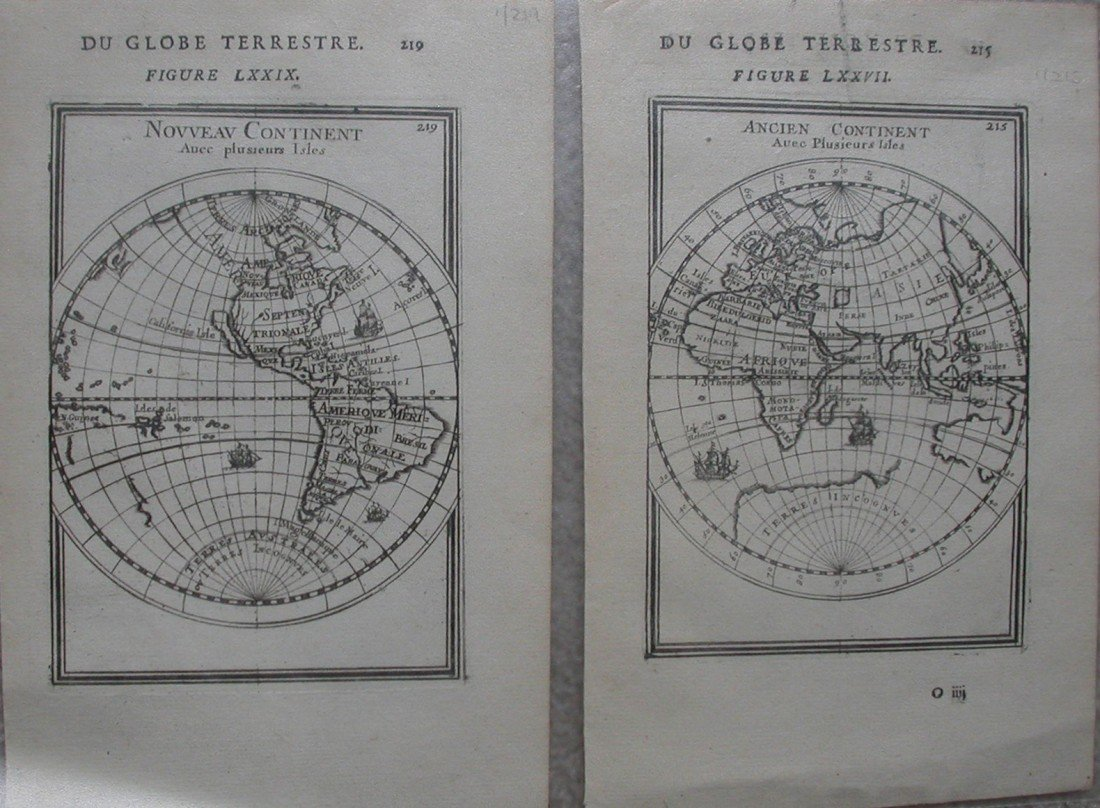 3: Hemispheres Du Globe Terrestre