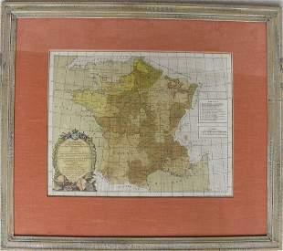Projection Geo-spherique ou plan Trigonographique de