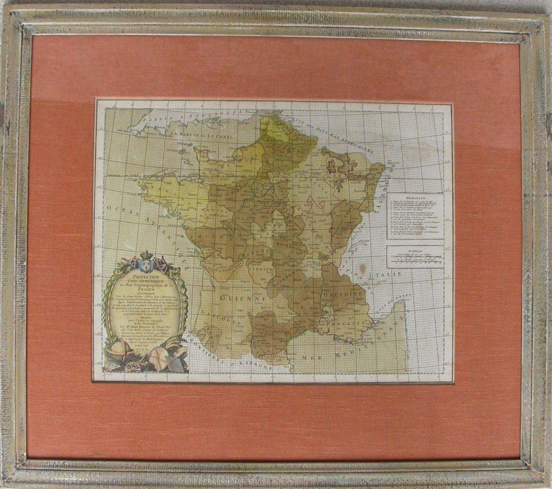 5: Projection Geo-spherique ou plan Trigonographique de
