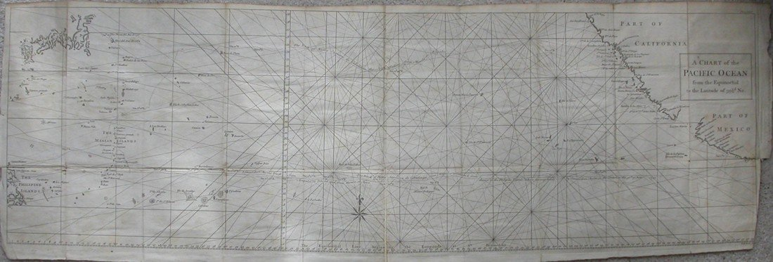 6: A Chart of the Pacific Ocean