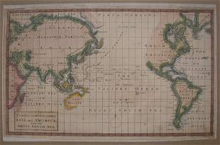 A Complete Chart of the Coast of Asia and America