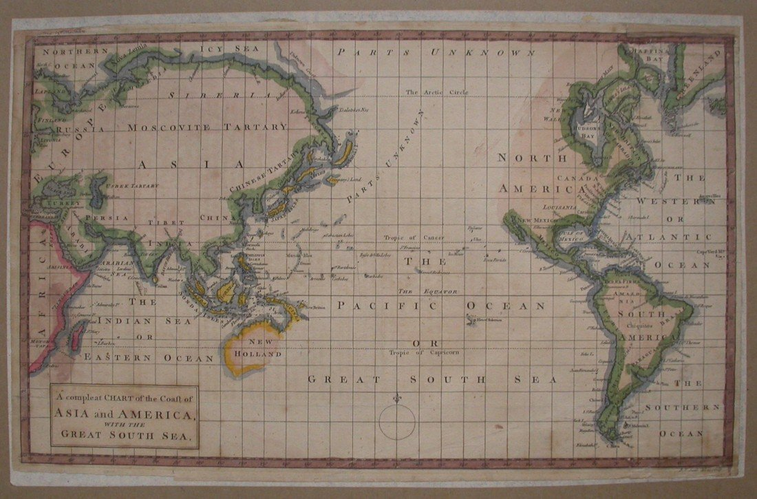 7: A Complete Chart of the Coast of Asia and America