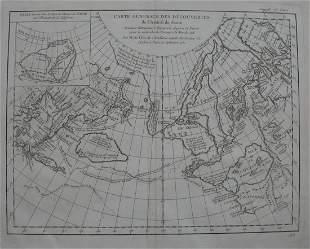 Carte Generale des Decouvertes de l'Amiral de Fonte