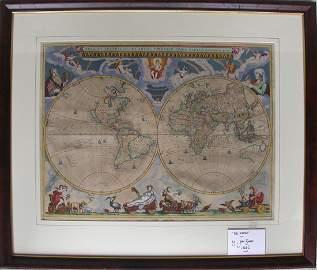 38: Nova et Accuratissima totius Terrarum Orbis Tabula