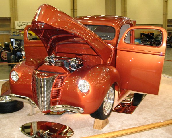 707: 1940 Ford Pickup Radical Custom