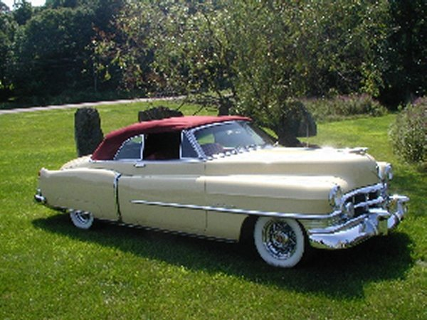 719: 1950 Cadillac Series 62 Two Door Convertible