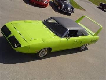 754: 1970 Plymouth Superbird Two-Door