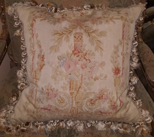 early 1900s Antique French Pillow