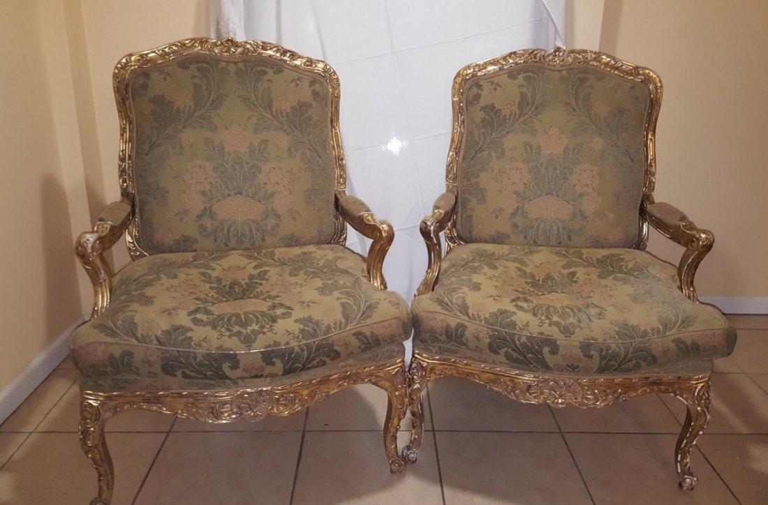 Pair of chairs by Nancy Corzine,