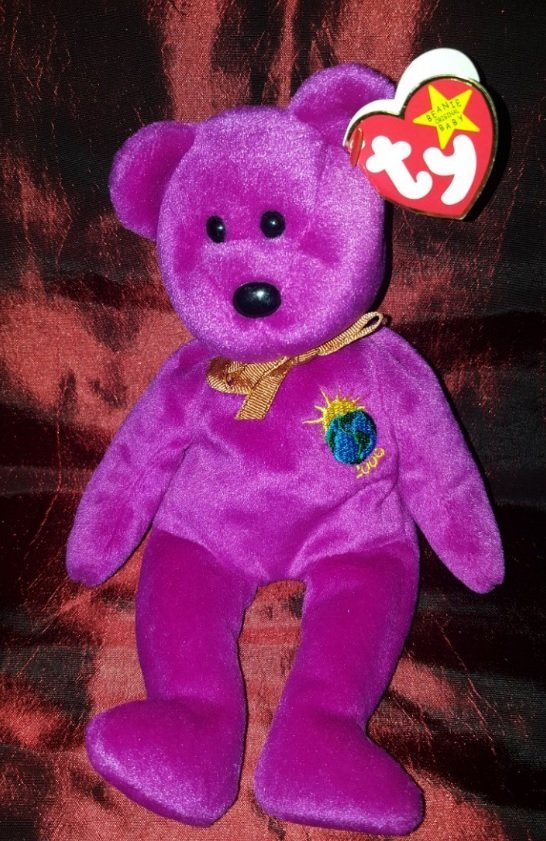 Collectible 1999 (violet) 8 ½ inches