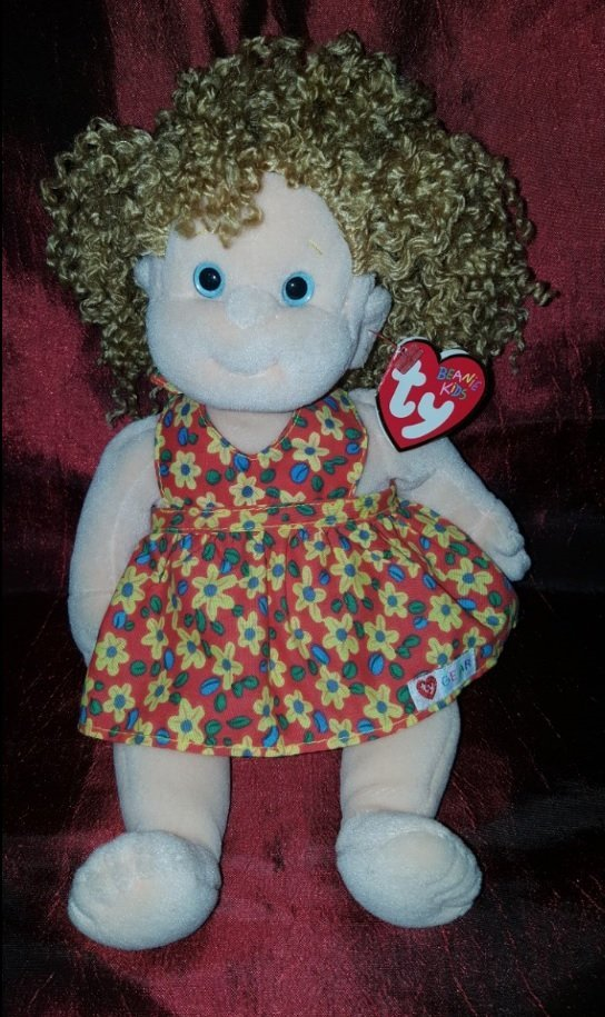 Collectible TY Princess 1996 (multicolor) 10 inches