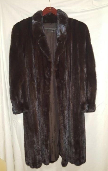 Full Length Mink Fur Coat KARABELAS NEW YORK