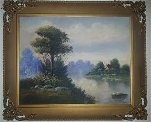 Alfred Sisley 1839 – 1899) Impressionist landscape