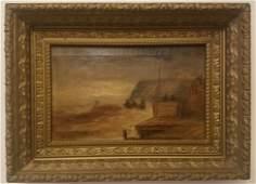Dennis Miller Bunker, signed painting