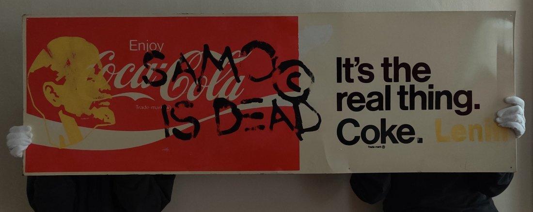 J.M. Basquiat, SAMO IS DEAD coca cola