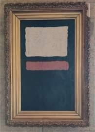 Mark Rothko, oil on canvas