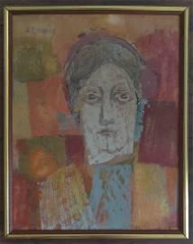 Willem de Kooning (1904 - 1997) oil on paper