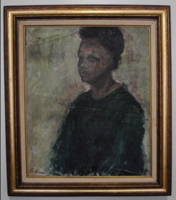 Chaim Soutine, Portrait of a woman, cca. 1940