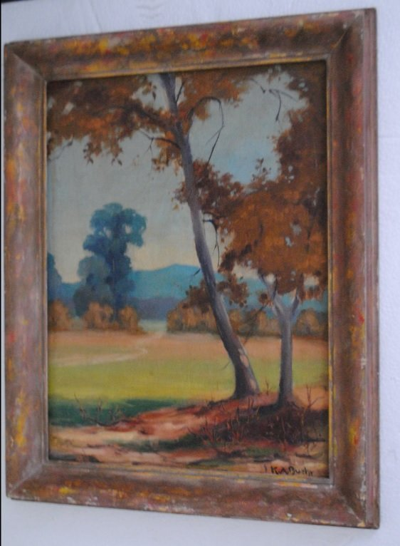 Karl Albert Buehr, Autumn forest landscape - 10