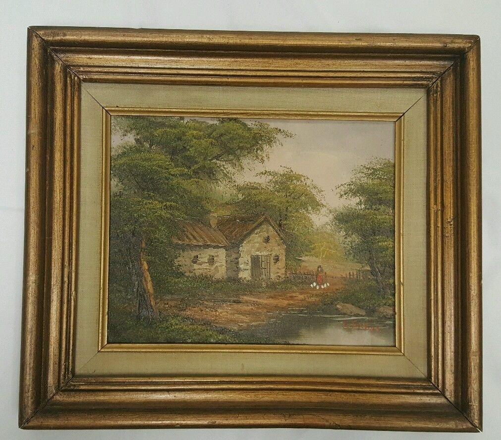 Elizabeth Fisher Washington, oil on plywood painting