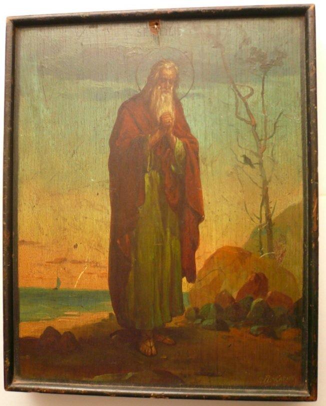 Pavel Piskariov, religious painting