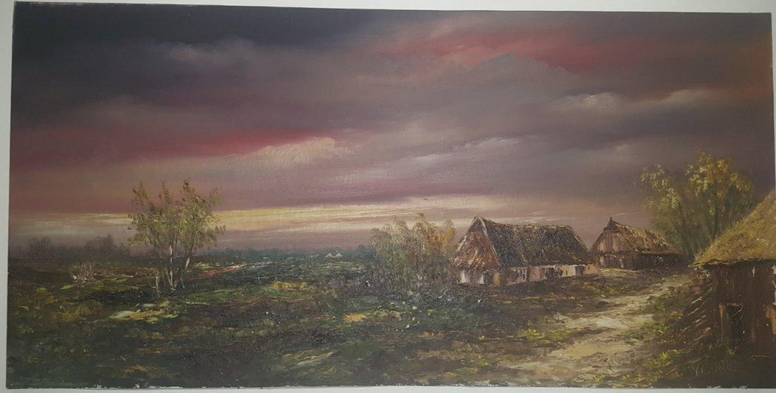 N. Vissink, oil on canvas, Holland painter