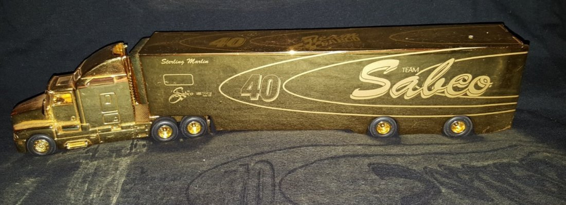 KENWORTH COLLECTIBLE TRUCK, Sterling Marlin signature