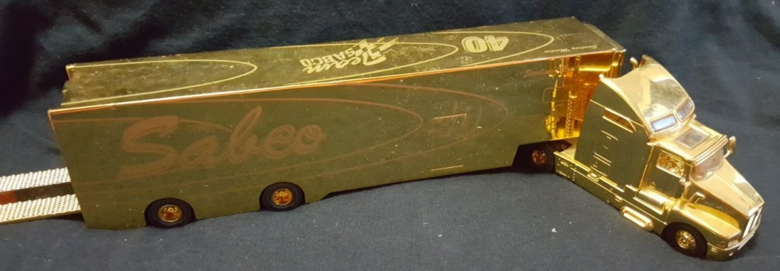 KENWORTH COLLECTIBLE TRUCK, Sterling Marlin signature - 9