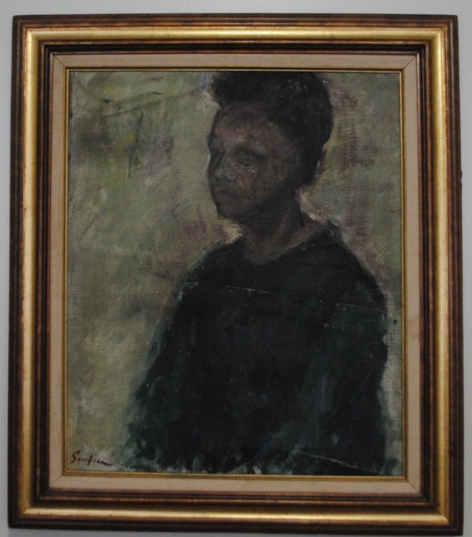 Chaim Soutine, Portrait of a woman - 10