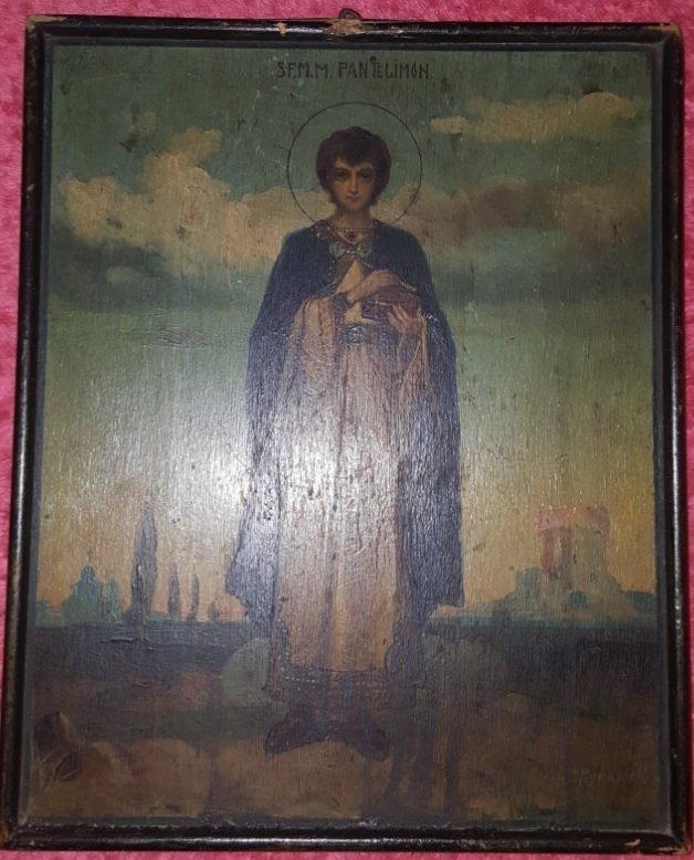 Pavel Piskariov Icons painter begining of 19th centurry
