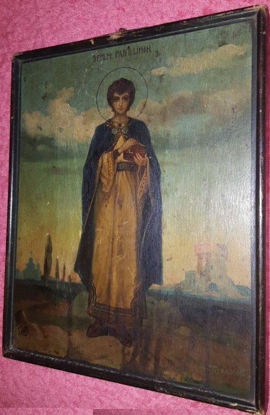 Pavel Piskariov Icons painter begining of 19th centurry - 2