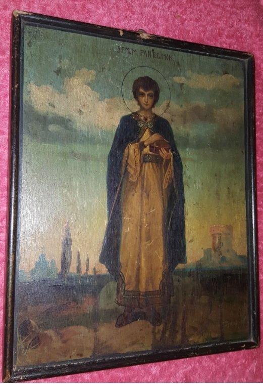 Pavel Piskariov Icons painter begining of 19th centurry - 3