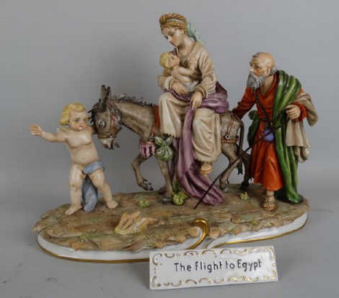 German Porcelain - Flight to Egypt Grouping