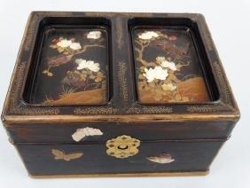 Japanese Shibayama Box