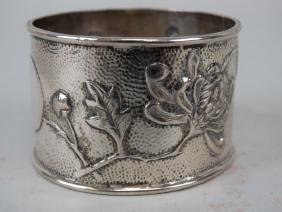 Rare Sterling Silver Napkin Ring