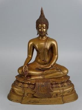 Thai Bronze Buddha