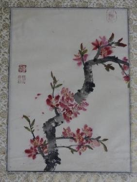 Chinese Watercolor Painting - Flowers