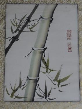 Chinese Watercolor Painting - Bamboo