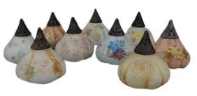 Grouping of 9 Mt. Washington Fig S&P Shakers
