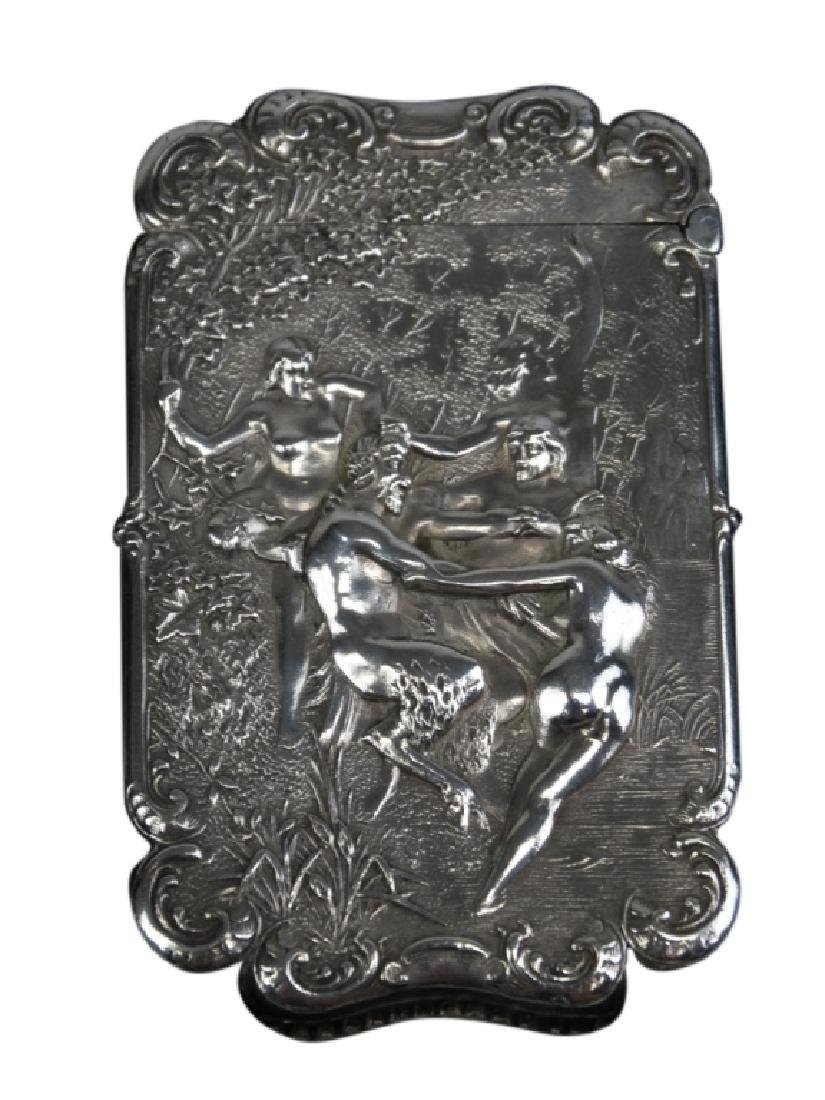 Silver Plated Match Safe Midsummer Night's Dream