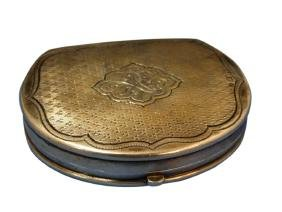 Russian Silver Snuff Box